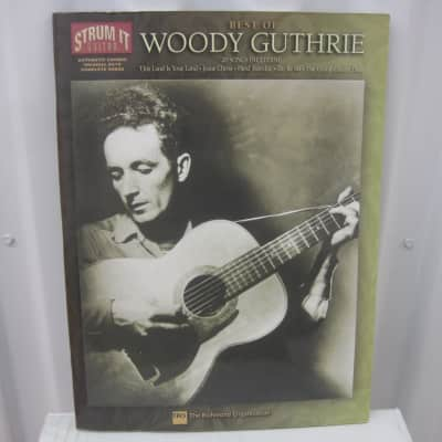 Woody Guthrie Best of Strum It Guitar Chords Sheet Music Song Book Songbook