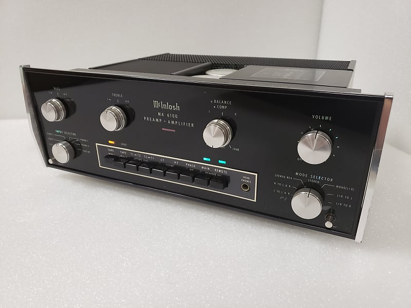 Fully Restored McIntosh MA-6100 70WPC Stereo Integrated Amplifier -  Beautiful Cosmetics, Amazing Sound And Reliability!