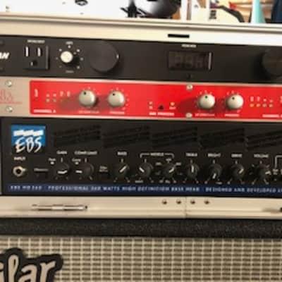 EBS EBS HD360 360W Bass Guitar Amplifier Head 2018s Black for sale