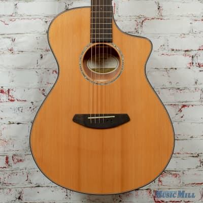 Breedlove Pursuit Concert CE Acoustic/Electric Guitar Red Cedar-Mahogany Natural Gloss x5242 for sale