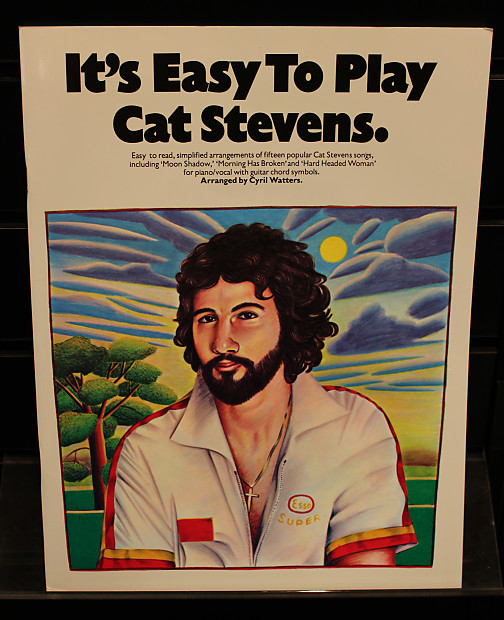 It\'s Easy To Play Cat Stevens Piano/Vocal/Guitar Songbook | Reverb