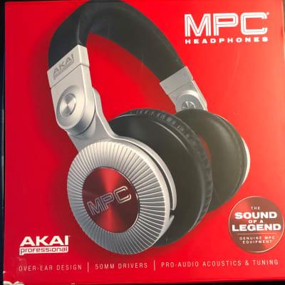 Akai Headphones 2016 Silver/Red