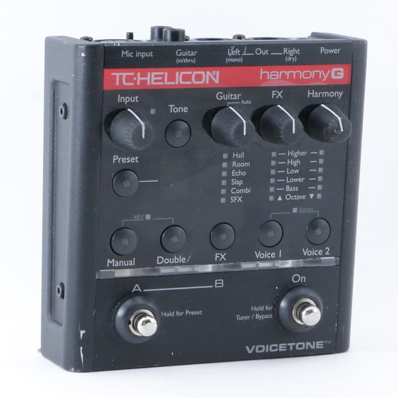 tc helicon harmony g vocal multi effects pedal p 08628 reverb. Black Bedroom Furniture Sets. Home Design Ideas