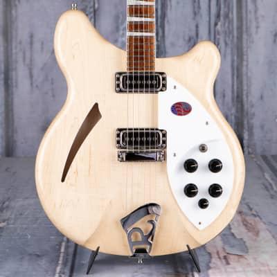 Rickenbacker 360 Deluxe Thinline Semi-Hollowbody, Mapleglo