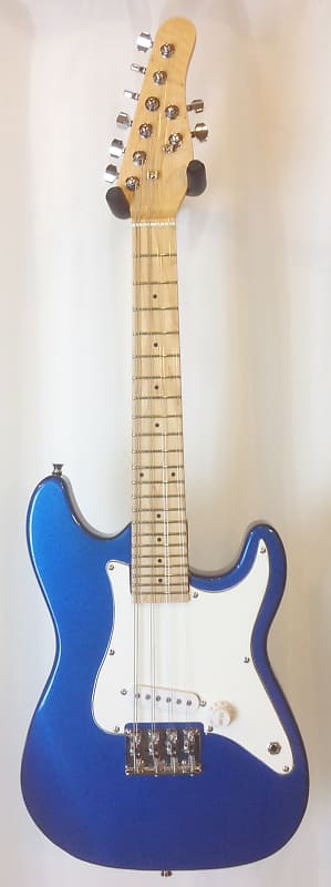 mortone 8 string electric mandola 1 2 size travel guitar reverb. Black Bedroom Furniture Sets. Home Design Ideas
