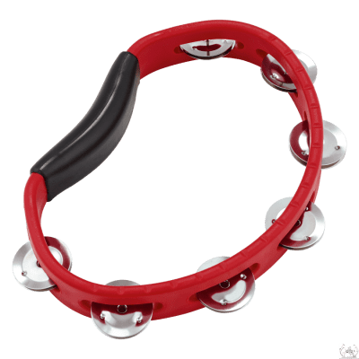 Meinl Headliner Series Hand Held ABS Tambourine (Red) -HTR