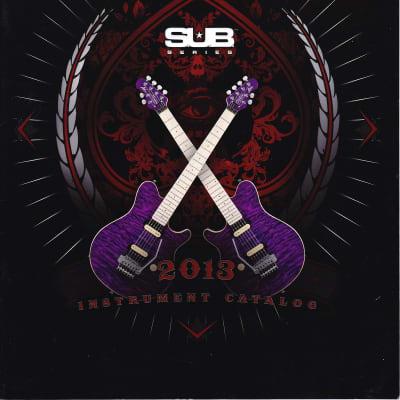 Sterling by Musicman-  2013 Instrument Catalog