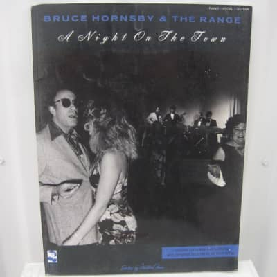 Bruce Hornsby & The Range A Night on the Town Sheet Music Song Book Songbook Piano Vocal Guitar