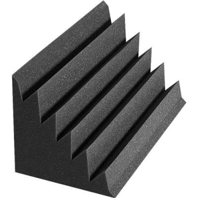 Auralex 12x12x24  DST LENRD Bass Traps, 8 Pieces, Charcoal