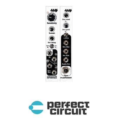 4MS Percussion Interface + Expander Envelope Follower / Gate Extractor