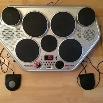 Yamaha Digital Drum Machine with Power Supply & Pedals