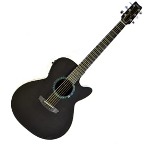 RainSong CO-WS1000N2 Concert Wind Song Acoustic-Electric Guitar Black