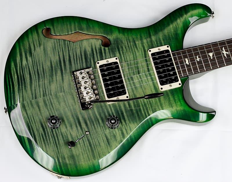 2019 prs s2 custom 22 semi hollow electric guitar moss green reverb. Black Bedroom Furniture Sets. Home Design Ideas