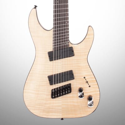 Schecter C-7 MS SLS Elite Electric Guitar, Gloss Natural