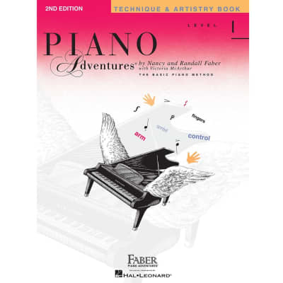 Piano Adventures: The Basic Piano Method - Technique & Artistry Level 1 (2nd Edition)