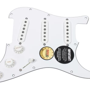 920D Custom Shop 21-11-10 Fender Tex-Mex Loaded Prewired Strat Pickguard