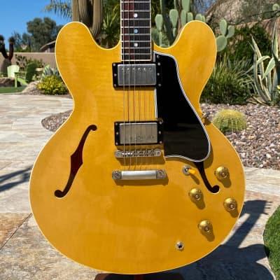 McKay 1959 335 DOT Blond - Virgil Arlo 59 PAF Set - Vintage Tone for sale