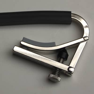Shubb 12 String Guitar Capo - Nickel for sale