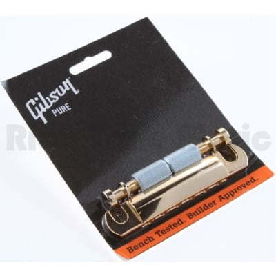 Gibson Gold Stop Bar With Studs & Inserts for sale