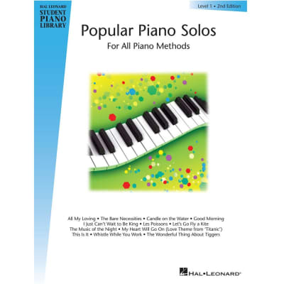 Popular Piano Solos for All Piano Methods - Level 1 • 2nd Edition (w/ CD)