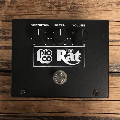 ProCo Rat Big Box Reissue with LM308 Chip