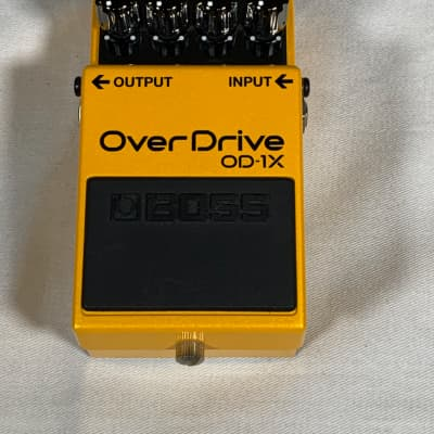 Demo model Boss OD-1X Special edition Overdrive effects pedal with premium tone