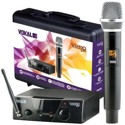 Vokal Wireless Microphone System VMS10 - 01 Mic + 01 Receiver