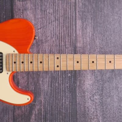 G&L ASAT Classic (USA Custom) 2016 Clear Orange for sale