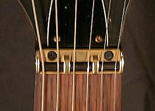 guitar parts roller nut help stay in tune gold reverb. Black Bedroom Furniture Sets. Home Design Ideas