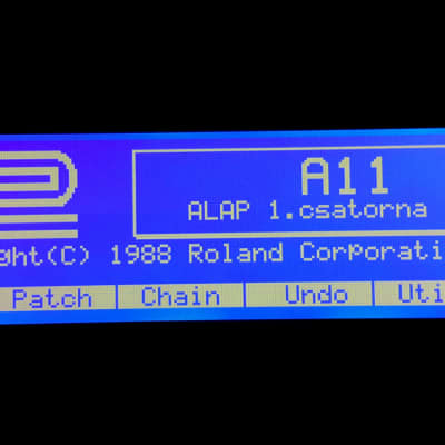 Graphic Display Upgrade - Roland A-80 Graphic Display Upgrade