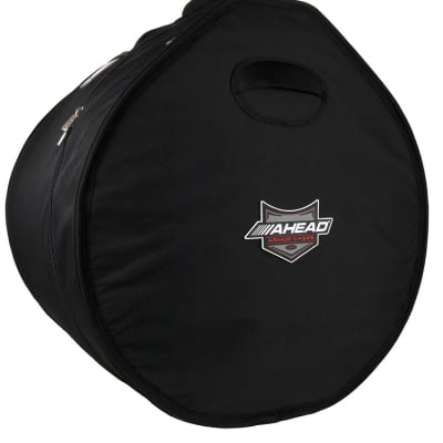 Ahead Bags - AR2022 - 22 x 20 Bass Drum Case w/Shark Gil Handles 22 Deep, 20 Diameter