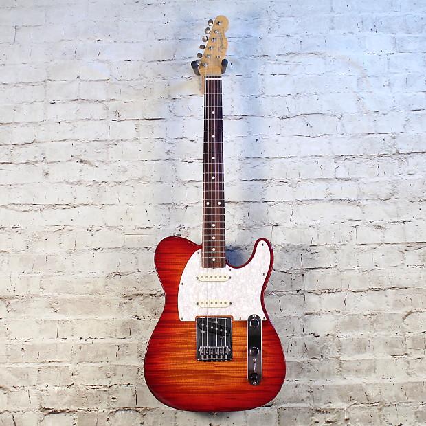 Fender foto flame telecaster price 51