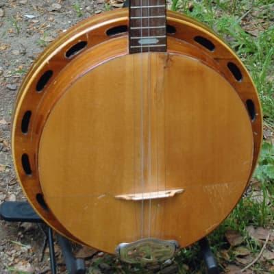 ca. 1928 Paramount 5 String Banjo Harp for sale