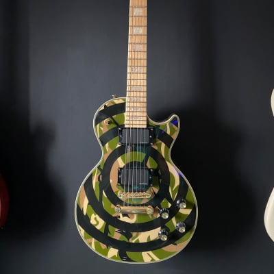 2005 Epiphone Zakk Wylde Les Paul Custom Camo for sale