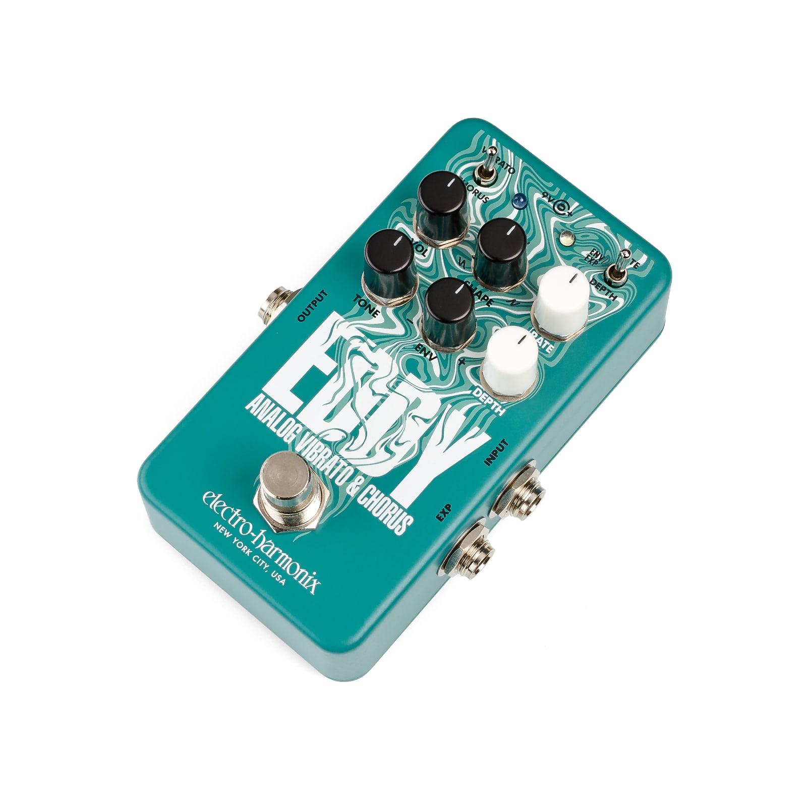 Electro-Harmonix EHX Eddy Analog Vibrato & Chorus Effects Pedal