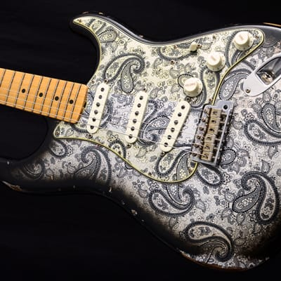New Fender New Fender Custom Shop 1968 Relic Stratocaster Black Paisley Limited! for sale