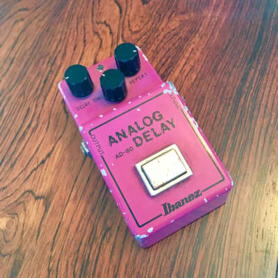 Maxon Ad80 analog delay pedal c 1980 Poink! original vintage mij ad-80 for sale