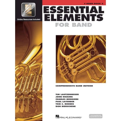 Hal Leonard Essential Elements for Band - Book 2 with EEi: F Horn