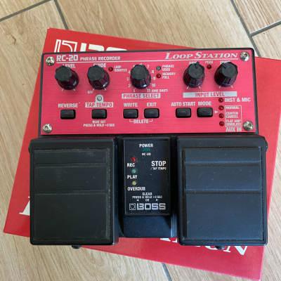 Boss RC-20 Loop Station Pedal + FS5U pedal