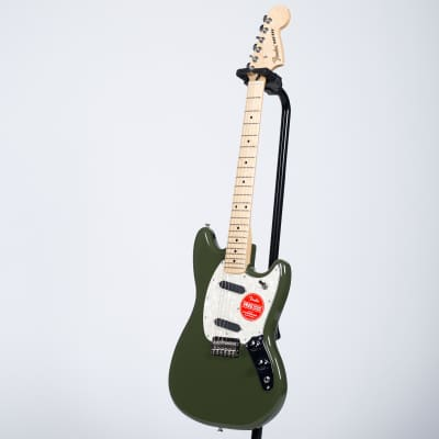 Fender Mustang - Maple, Olive for sale