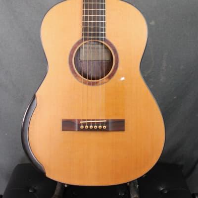 Kim Lissarrague Latice braced arched back steel string guitar 2016 for sale