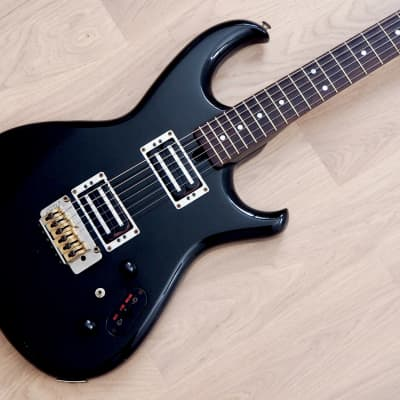 1984 Aria Pro II RS Inazuma-II RS-IZM2 Vintage Electric Guitar Black Japan for sale