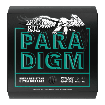 Ernie Ball Paradigm Not Even Slinky Electric Guitar Strings - 12-56 Gauge