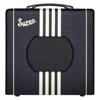 Supro Delta King 8 1-Watt 1x8 Combo Amp - Black & Cream - 1818BC