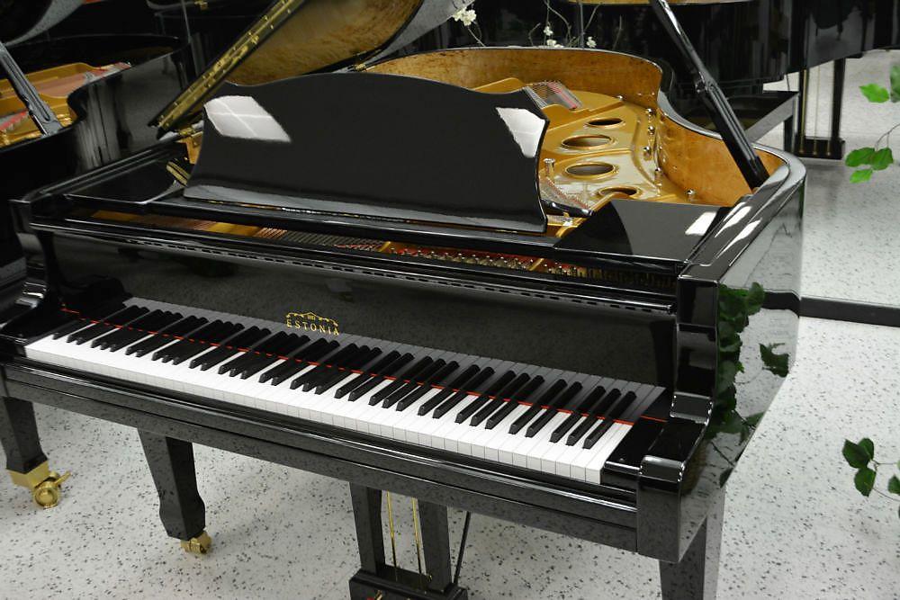 """Estonia 6'3"""" Grand Piano Black Polish"""