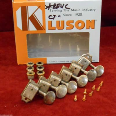 Kluson nickel Tuner RELIC for Custom Shop Stratocaster / Telecaster strat tele