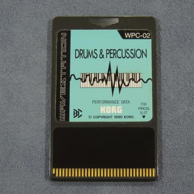 Korg WPC-02 Drums & Percussion Card for Wavestation