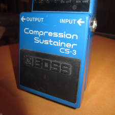 Original Circa 2009 BOSS CS-3 Compressor Sustainer
