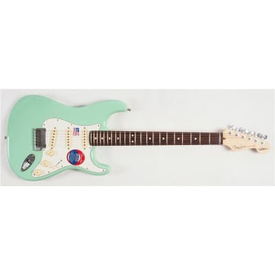 Fender Jeff Beck Stratocaster, Surf Green for sale