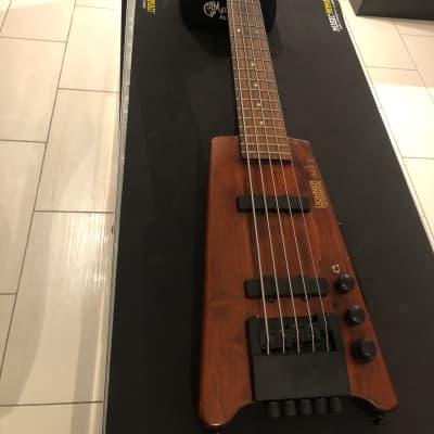 Hohner 5 String Headless bass B2a-v 1984-1996 Walnut for sale